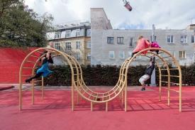 Superkilen Red Square, Copenhagen - BIG 17