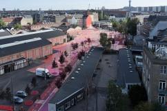 Superkilen Red Square, Copenhagen - BIG 7