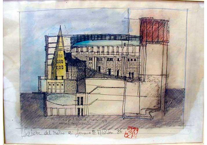 Teatro Carlo Felice_Genova 1987-91