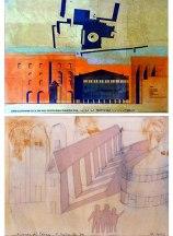 Teatro Paganini e Piazza della Pilotta_Parma 1964