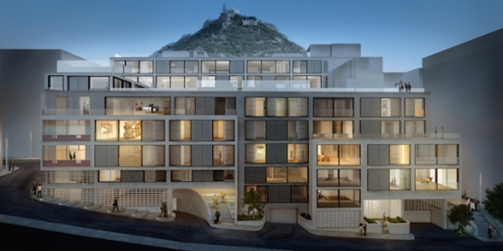 One Athens apartment building, Athens - Divercity ( elevation )
