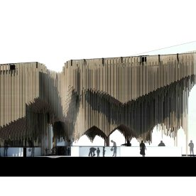 Casablanca Sustainable Market Square - second prize - PMG architects