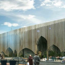 Casablanca Sustainable Market Square - second prize - PMG architects1