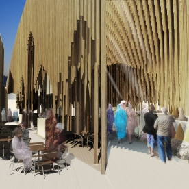 Casablanca Sustainable Market Square - second prize - PMG architects2