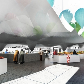 Casablanca Sustainable Market Square - third prize - various architects1