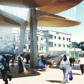 Casablanca Sustainable Market Square - winnig proposal - TomDavid Architects1