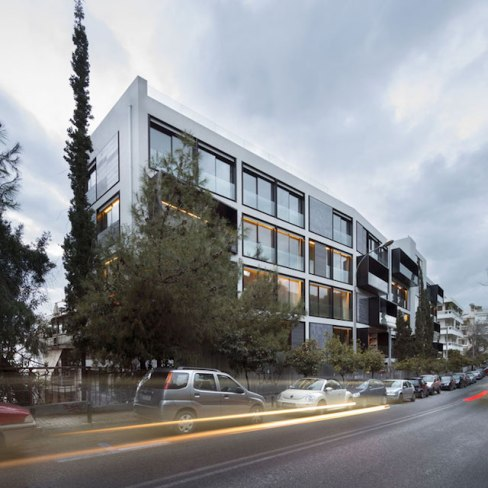 One Athens apartment building, Athens - Divercity (view)