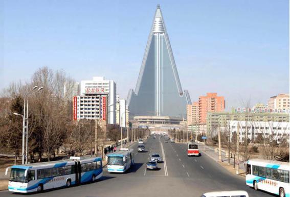 Ryugyong Hotel, Pyongyang