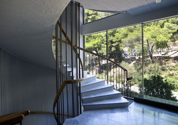 One Athens apartment building, Athens - Divercity (staircase)
