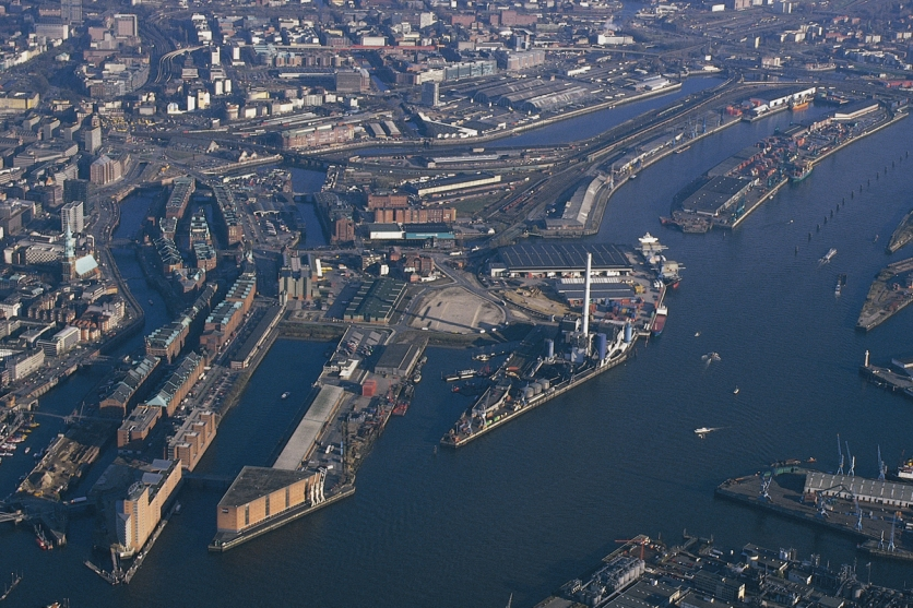 Hafen City Hamburg in 1997