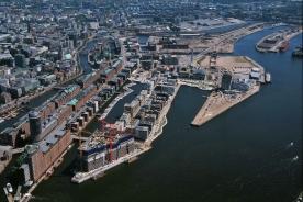 Hafen City Hamburg in 2009