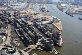 Hafen City Hamburg in 2010