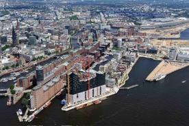 Hafen City Hamburg in 2011