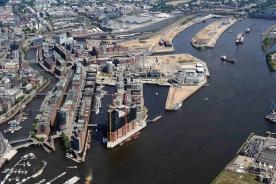 Hafen City Hamburg in 2012