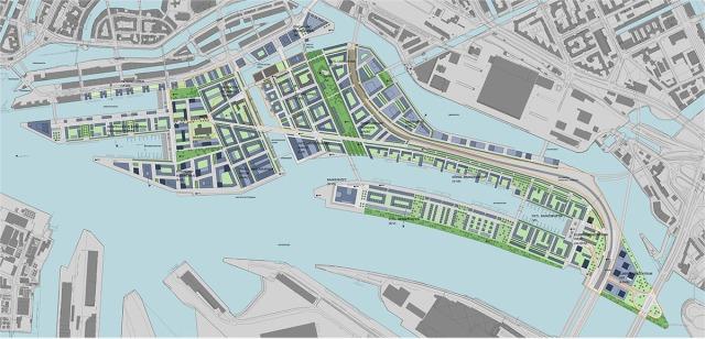 Hafen City _ green areas