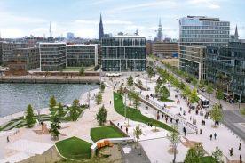 Hafen City - green areas 3