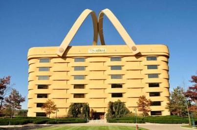 Longaberger s Home Office Zanesville Ohio U S seven story building basket