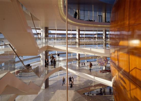 Open Foyer Opera Copenhagen : Opera house copenhagen henning larsen architects