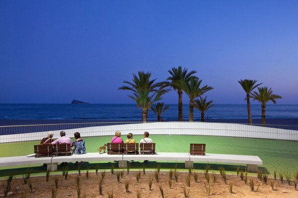 benidorm west beach promenade9