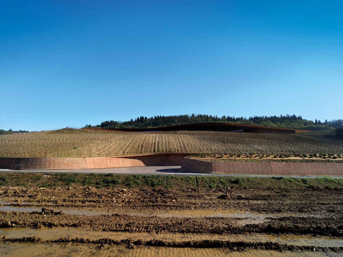 Antinori Winery by Archea Associati | Design by subtraction