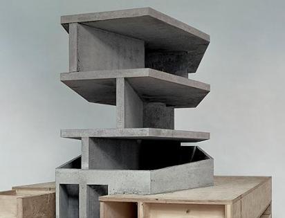 """One wall house"", Model - Christian Kerez"