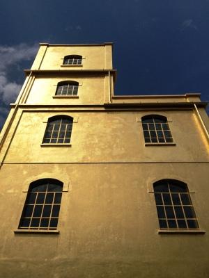 Fondazione Prada, Milan - Rem Koolhaas (Cladding: gold leaf)